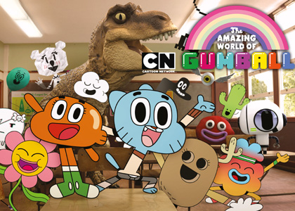 Gumball et Adventure Time portent les couleurs de Cartoon Network