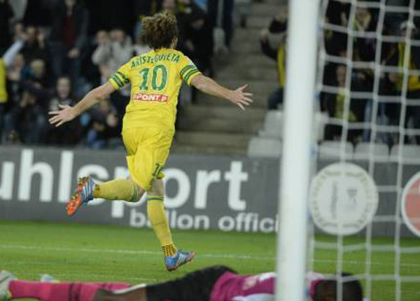 Coupe de la ligue nantes en quarts de finale france 4 - Retransmission foot coupe de la ligue ...