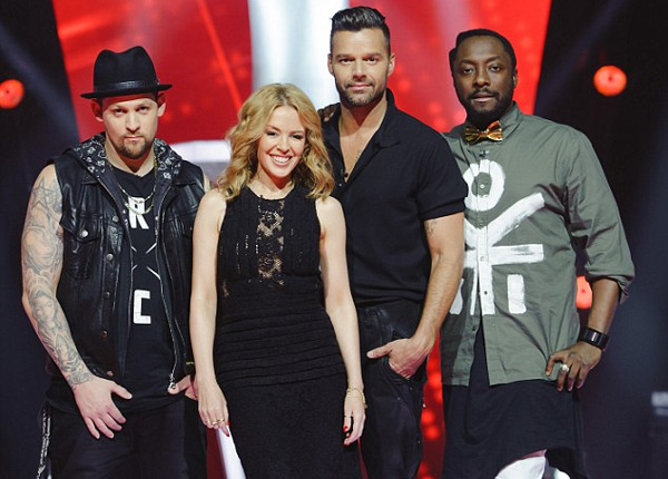 The voice kylie minogue tacle la version anglaise du for Les jardins du ciel version anglaise