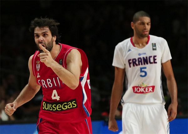 Record d'audience pour le match de basket France / Serbie sur Canal+ Sport