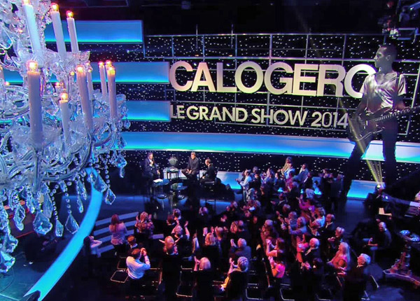 Un Grand show plus discret sur France 2, avec Calogero
