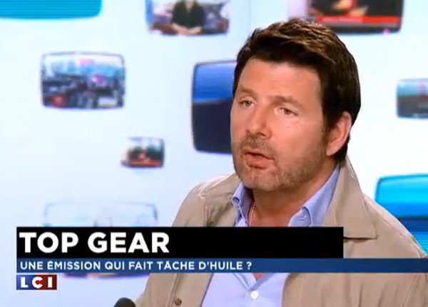 top gear france une saison 2 et le salaire de philippe lellouche r v l toutelatele. Black Bedroom Furniture Sets. Home Design Ideas