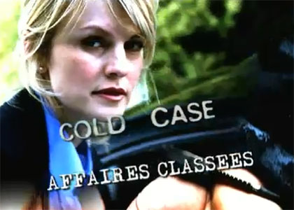 COLD CASE : AFFAIRES CLASSEES