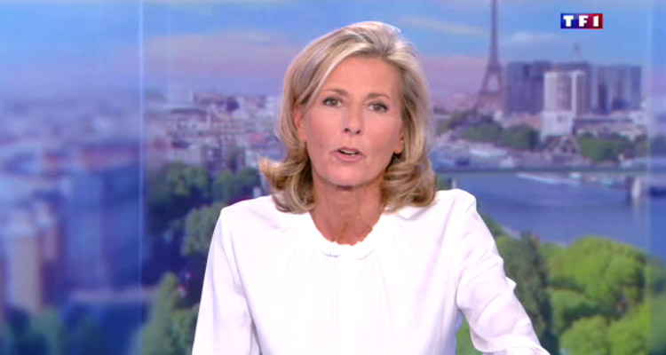 tf1 claire chazal fera ses adieux le 13 septembre apr s 24 ans aux jt du week end toutelatele. Black Bedroom Furniture Sets. Home Design Ideas