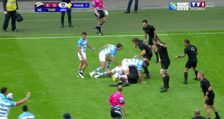 Coupe du monde de rugby 2015 les all blacks battent de justesse les pumas mais tf1 crase la - Classement coupe monde rugby 2015 ...