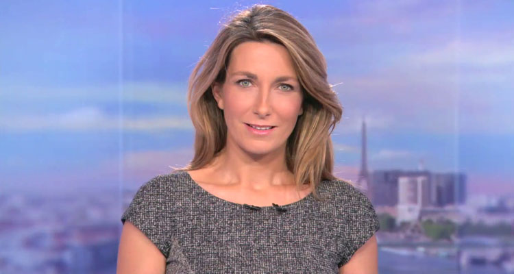 JT 20 heures : Anne-Claire Coudray distance Marie Drucker