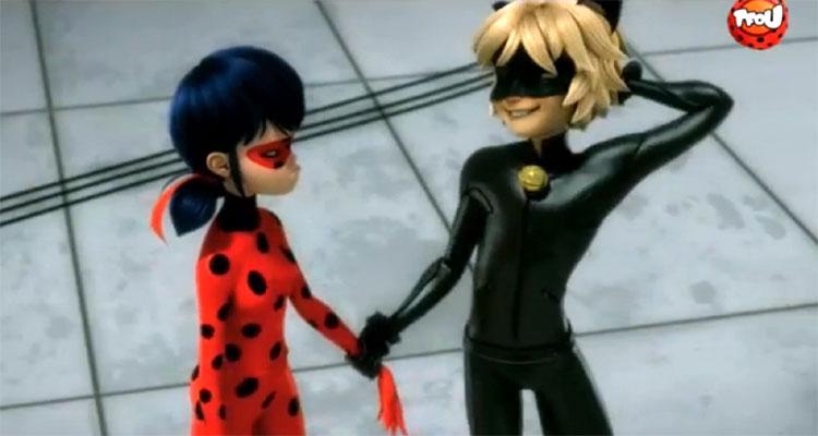 Miraculous Les Aventures De Ladybug Et Chatnoir Tf1 Deux Heros