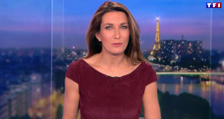 Audiences JT (dimanche 4 décembre 2016) : Anne-Claire Coudray bat un record au 20h depuis février, Leïla Kaddour-Boudadi en peine