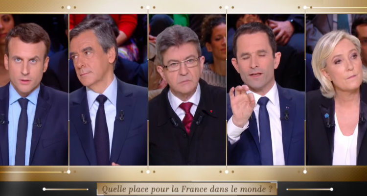 Sondage. Macron, Mélenchon et Fillon devant Le Pen au second tour