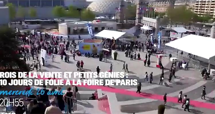 Foire de paris 2017 dix jours de folie du concours l pine aux camelots t - Foire de paris concours lepine ...