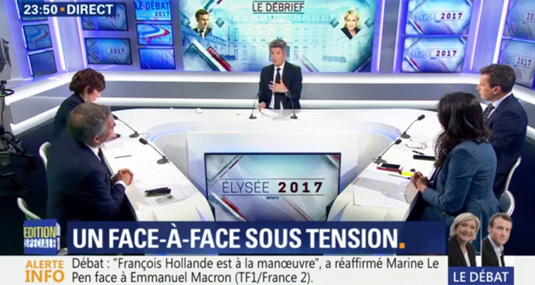 débat france 2 direct