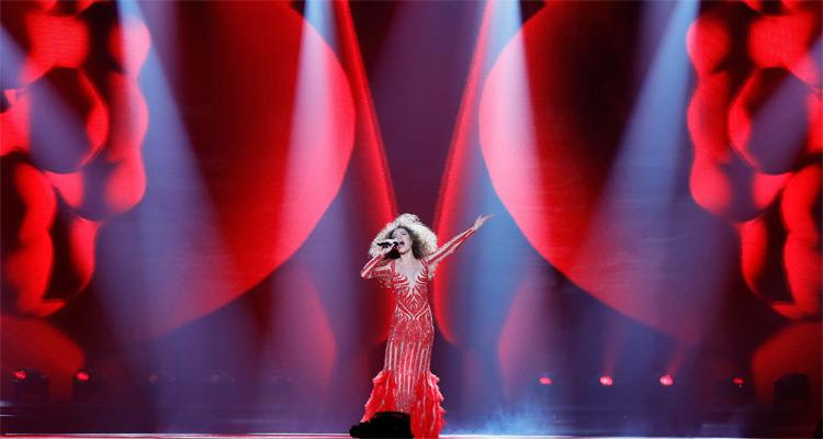Kitsch, paillettes et tensions à Kiev — Eurovision