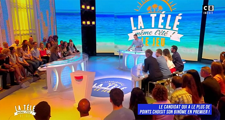 la t l m me l t quel bilan d audience pour la version estivale de tpmp sur c8 toutelatele. Black Bedroom Furniture Sets. Home Design Ideas