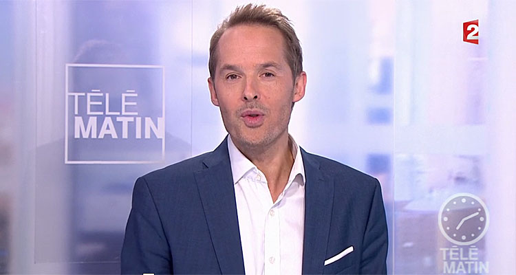 t l matin laurent bignolas en gr ve damien th venot booste l audience de france 2 toutelatele. Black Bedroom Furniture Sets. Home Design Ideas