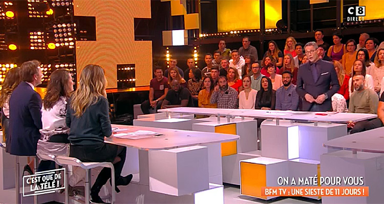 c est que de la t l julien courbet chute en audience secret story passe devant c8 toutelatele. Black Bedroom Furniture Sets. Home Design Ideas