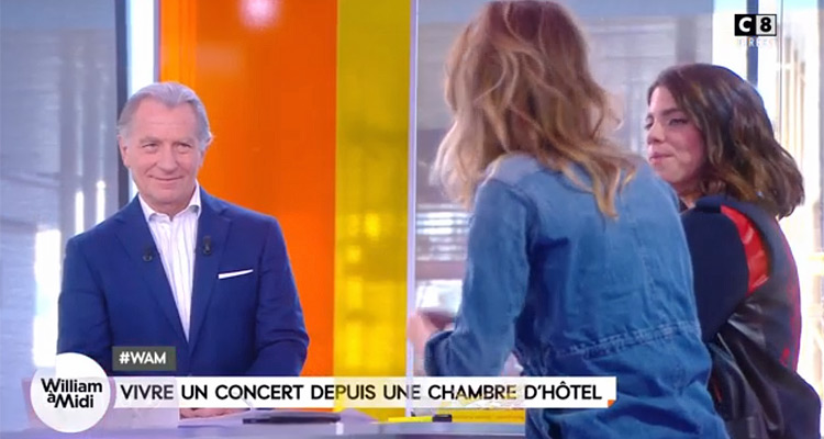 William midi c est que de la t l william leymergie dynamise son audience julien courbet - Que devient william leymergie ...