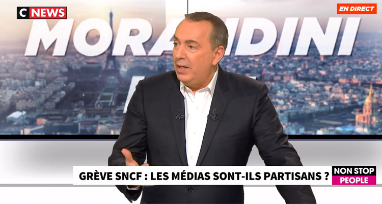 CNews (audiences) : Morandini Live, l'interview de Jean-Pierre Elkabbach, Pascal Praud... records en série pour la chaîne d'information