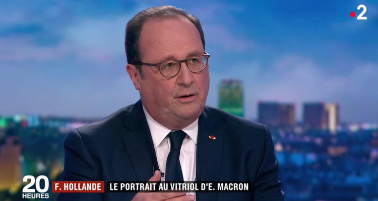 François Hollande plombe le 20 heures de France 2 — Audiences