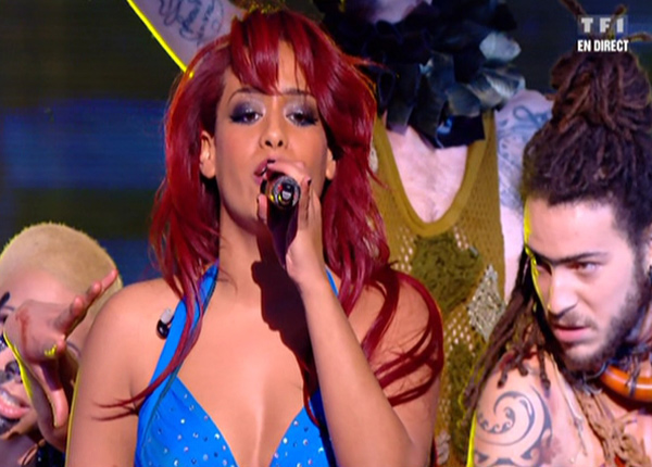 Amel Bent assure le spectacle