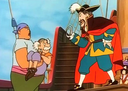 Peter pan dessins anim s tv toutelatele - Bateau pirate peter pan ...