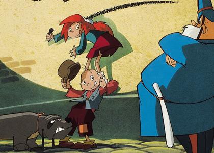 Orson olivia dessins anim s - Orson et olivia ...