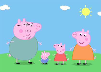Peppa pig dessins anim s tv toutelatele - Dessin anime de peppa cochon ...