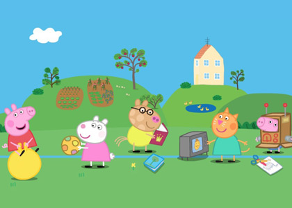 Peppa pig les photos dessins anim s - Dessin anime de peppa cochon ...