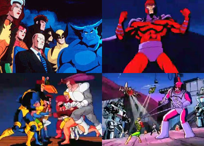 X Men Dessins Animes Tv Toutelatele