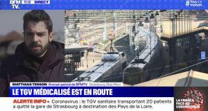 Matthias Tesson (BFMTV, spécial Coronavirus): «C'est anxiogène aussi pour les journalistes mais on est habitué psychologiquement à traiter ce type d'information»