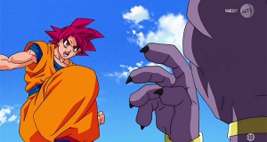 Dragon Ball Super : Goku et Vegeta face à Beerus, audiences records pour NT1