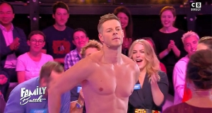 Family Battle : Matthieu Delormeau fait un strip tease, l'audience du jeu se stabilise