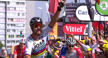 Tour de France (audiences) : avant le contre-la-montre à Cholet, France 2 et Peter Sagan écrasent la concurrence, France 3 et Miss Fisher battues par C8