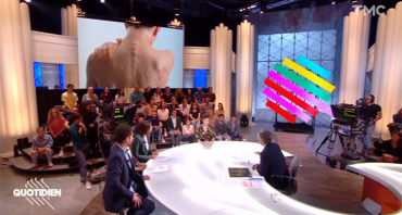 Quotidien : Yann Barthès compare Marine Le Pen à Donald Trump, Cyril Hanouna et TPMP s'imposent en audience