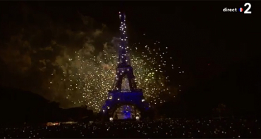 Feu d'artifice du 14 juillet à la Tour Eiffel : quelle audience pour le Concert de Paris 2019 sur France 2 ?
