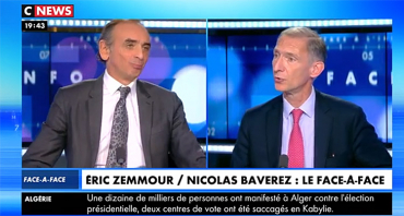 Face à l'info (audiences) : Eric Zemmour bat tous les records, Christine Kelly hisse CNews leader