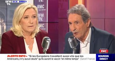 Bourdin Direct : clash Marine Le Pen / Jean-Jacques Bourdin, audience rayonnante pour BFMTV