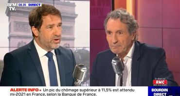 Bourdin Direct : Jean-Jacques Bourdin lance l'offensive, Christophe Castaner attaque « sa » police
