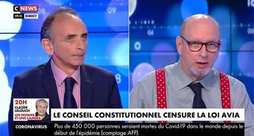 Face à l'info : Eric Zemmour face à la censure, Christine Kelly alerte CNews