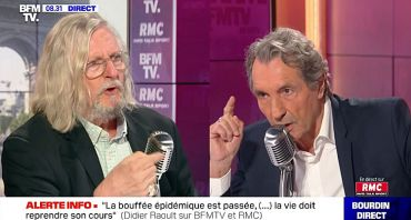 Bourdin Direct : Jean-Jacques Bourdin / Didier Raoult, clash sur BFMTV