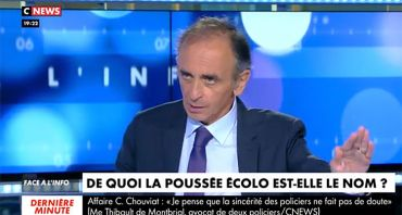 Face à l'info : Eric Zemmour dénonce un endoctrinement, Christine Kelly décroche en audience