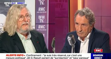 Bourdin Direct : quelle audience pour Jean-Jacques Bourdin face à Didier Raoult ?