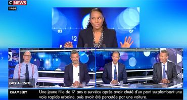 Face à l'info : sans Eric Zemmour, Christine Kelly battue en audience