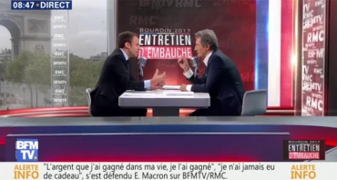 Emmanuel Macron fait décoller les audiences de BFMTV, Jean-Jacques Bourdin leader national