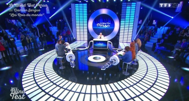 Le Grand Blind Test : Damien Sargue, Olivier Dion, David Bàn, Willy Rovelli, Valérie Bègue...