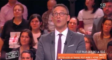 C'est que de la télé / William à midi (audiences) : Julien Courbet déroule, William Leymergie déraille