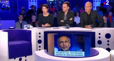 On n'est pas couché : le clash Laurent Baffie / Christine Angot coupé au montage, Laurent Ruquier résiste en audience