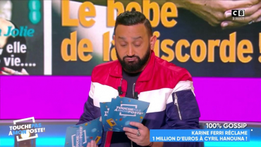 TPMP : Karine Ferri réclame 1 million d'euros à Cyril Hanouna