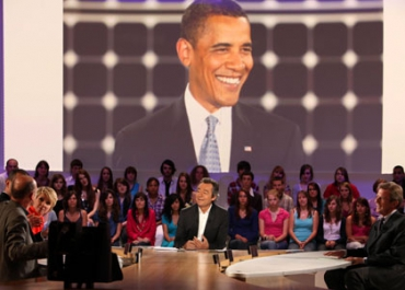 Barack Obama fait grimper l'audience du Grand Journal