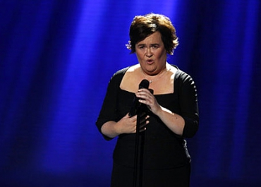 Susan Boyle en direct sur le plateau du Grand journal