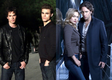Vampire Diaries / Moonlight : des vampires au top